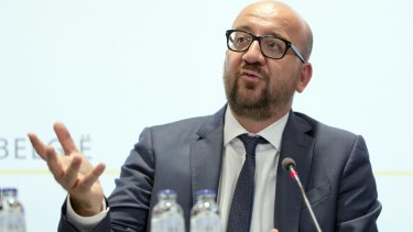 "The Prime Minister of Belgium, Charles Michel, called it ""a brutal act."""