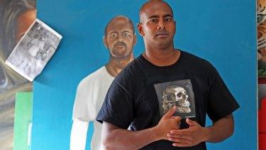 Myuran Sukumaran has pursued art passionately while on death row in Kerobokan prison.