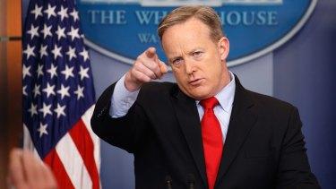 White House press secretary Sean Spicer has ordered staff to submit to random phone checks.