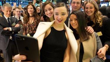Miranda Kerr is the dimple queen.
