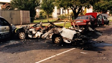 John Furlan was killed when his car exploded in 1998.