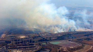 Given last year's Hazelwood fire, upper house crossbenchers would likely back legislation favouring EPA control.