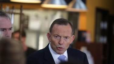 Prime Minister Tony Abbott dismissed the allegations during a visit to a small business in Sydney on Friday.