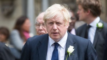 British MP Boris Johnson, voice of the 'Leave' campaign.
