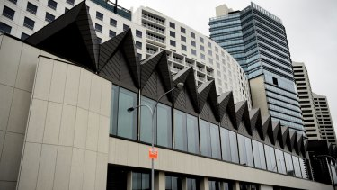The Hyatt Regency Sydney hotel.