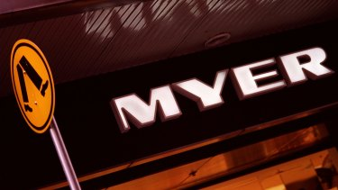 Solomon Lew met with Myer's chairman elect on Friday, October 6, to ask for two board seats, the letter says, but that request was refused.