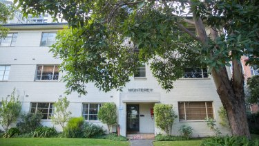 The Monterey building on Queen's Road, Melbourne was Australia's equivalent to  Bletchley Park.