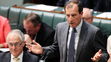 Mal Brough under fire in the House of Representatives over the raid.