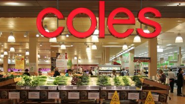 Coles' earnings are expected to fall sharply in the current half before sales and profits start to recover in the June half.