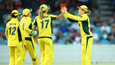 """Cricket Australia says it is """"determined to make cricket the sport of choice for women in Australia""""."""