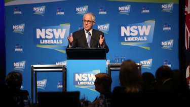 Liberal heartland: Tax payers in Prime Minister Malcolm Turnbull's electorate of Wentworth received an average $5,387 benefit from the CGT discount.