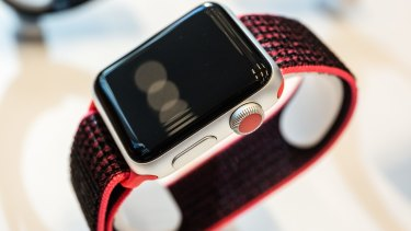 Apple unveiled a new model watch and is pushing hard into wearable tech.
