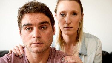Matt Torcasio has quit gambling with the help of girlfriend Lauren Britt and the Victorian Responsible Gambling Foundation.