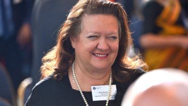 """A contractor working at Gina Rinehart's mine site noticed an """"unusual discoloration"""" inside a piece of fruit from the dining hall."""