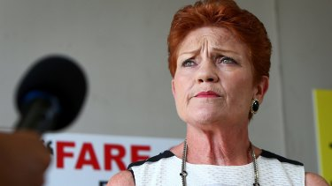 One Nation leader Pauline Hanson represents a growing trend of minor parties enjoying power.