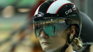 Germany's Kristina Vogel has come out on the front foot.