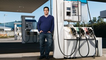 Emmanuel Stratiotis has been struggling to get information from the NSW Environment Protection Authority about the contamination levels at the petrol station site he owns, previously run by Woolworths.