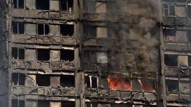 The death toll from the London fire is tipped to rise.