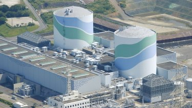The No 1 reactor  is back on at Kyushu Electric Power's Sendai nuclear power station in Satsumasendai, Japan.