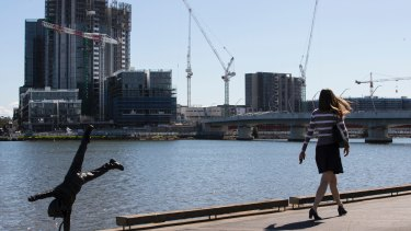 Residential populations are surging in suburbs along the Parramatta River.