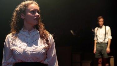 ATYP's Spring Awakening the Musical - Jessica Rookeward. Photo credit: Tracey Schramm