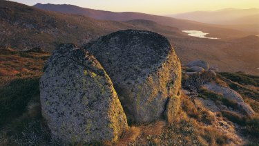 Views of Main Range, Kosciuszko National Park.