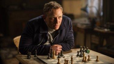 Daniel Craig in a still from <i>Spectre</i>.