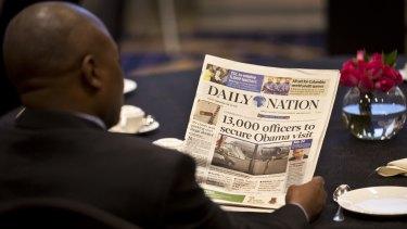 Security is high in Kenya for Barack Obama's long-awaited visit.