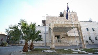 The Australian embassy in Baghdad, Iraq.