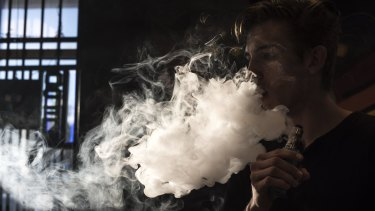 Parliament is examining laws around the use and marketing of e-cigarettes.