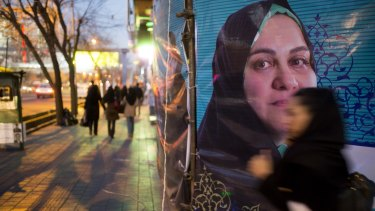 A number of female candidates were among early victors in the Iranian election.