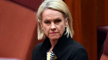 Fiona Nash showed little remorse for sitting in the Senate for more than a decade when she was not entitled to be there.