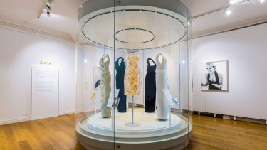 Dresses have been lent back to Kensington Palace from private owners across the world for the Diana: Her Fashion Story exhibition.