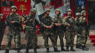 Thirty-one people were killed in May in Urumqi, Xinjiang, China.