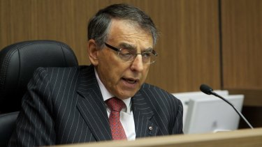 Former NSW ICAC commissioner David Ipp.