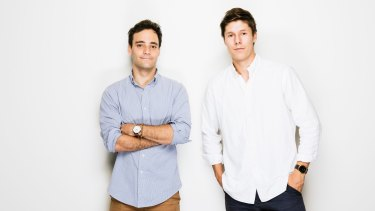 Manny Barbas and Tas Zacari used crowd funding to start their watch design company.