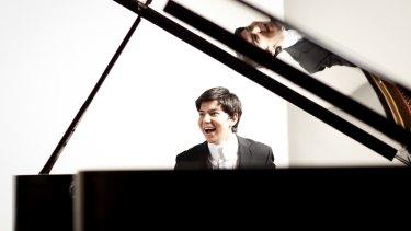 Uzbek pianist Behzod Abduraimov.