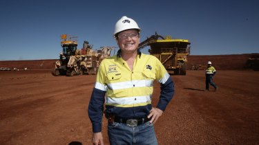 Fortescue Metals chairman Andrew Forrest. At current iron ore prices of about $US49 a tonne, Fortescue is right on the edge of losses, if not in the red.