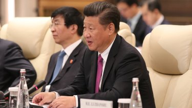 Investment discussions: Chinese president Xi Jiping.