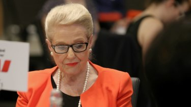"""Former speaker Bronwyn Bishop insists she did """"nothing wrong""""."""