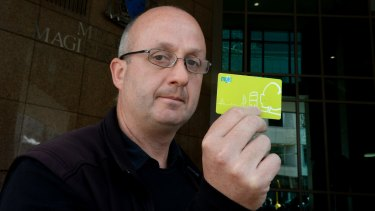 RMIT researcher Adrian Dyer, who will contest his myki fine in Melbourne Magistrates Court.