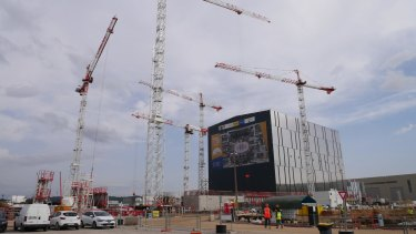 The ITER nuclear fusion project in Provence.