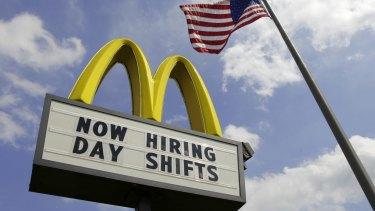 A McDonald's restaurant in Ohio.