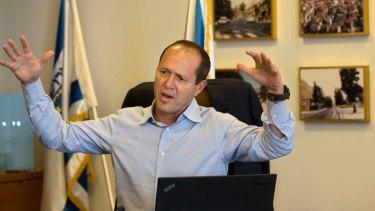 Jerusalem's Israeli mayor Nir Barkat had expressed the hope that Donald Trump would move Washington's embassy in Israel to his city.