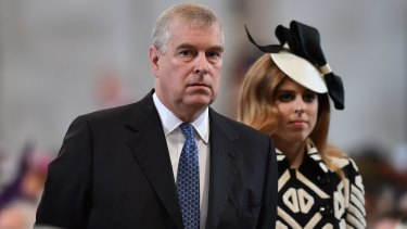 Britain's Prince Andrew has been trying to drum up support for his Pitch@Palace concept.