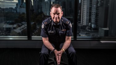 Assistant Commissioner Ross Guenther is the head of Victoria's counter terrorism command.