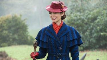 Emily Blunt  masters Cockney rhyming slang as Mary Poppins.
