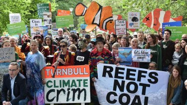 The Adani plan to build a coal mine in the Galilee Basin and feed coal through Abbot Point continues to draw regular protests.