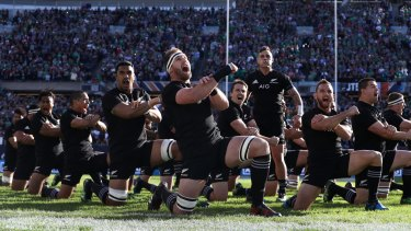New experience: The All Blacks had not lost in 18 games.