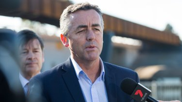 Cabinet minister Darren Chester has been dumped, sparking anger inside the Nationals.